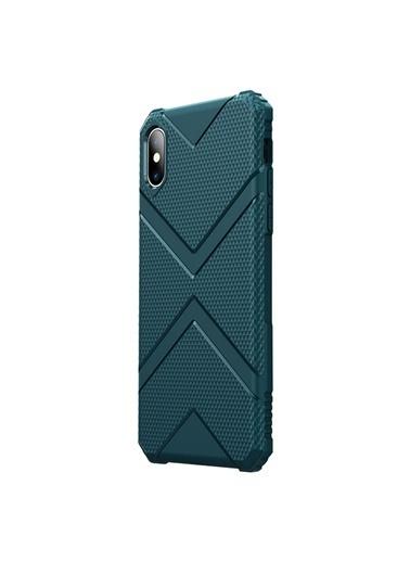 Microsonic Apple iPhone XS Kılıf Diamond Shield Yeşil Yeşil